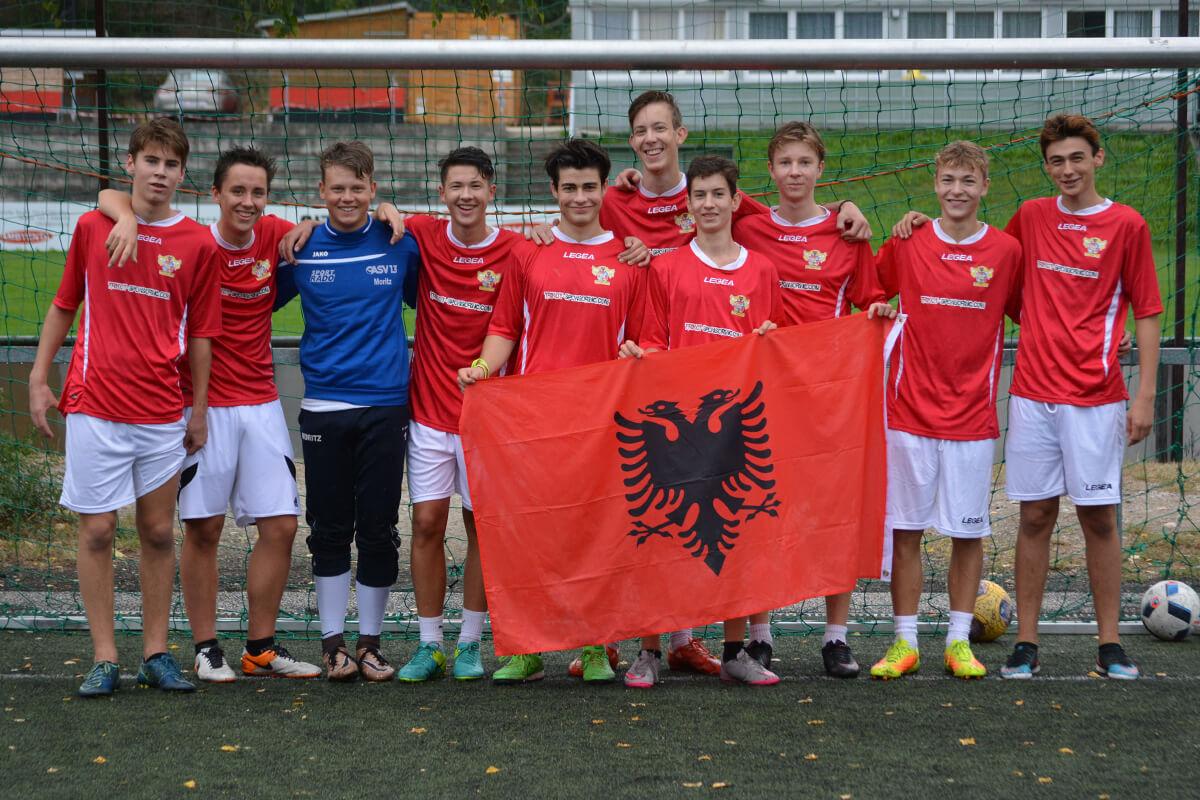 Mannschaftsfoto - Dynamo Albania Hietzing - FFBÖ Kleinfeldliga Wien West