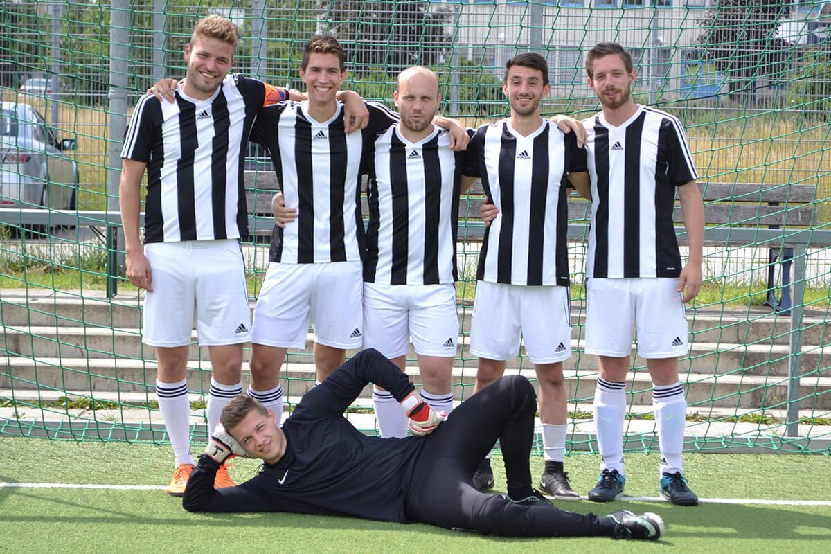 Mannschaftsfoto - SK Lation - FFBÖ Kleinfeldliga Wien West