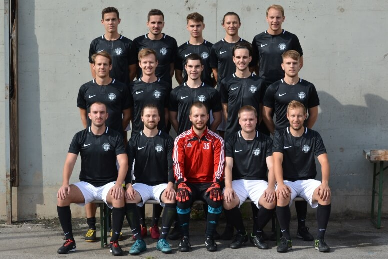 Mannschaftsfoto - Shapeship - FFBÖ Kleinfeldliga Wien West