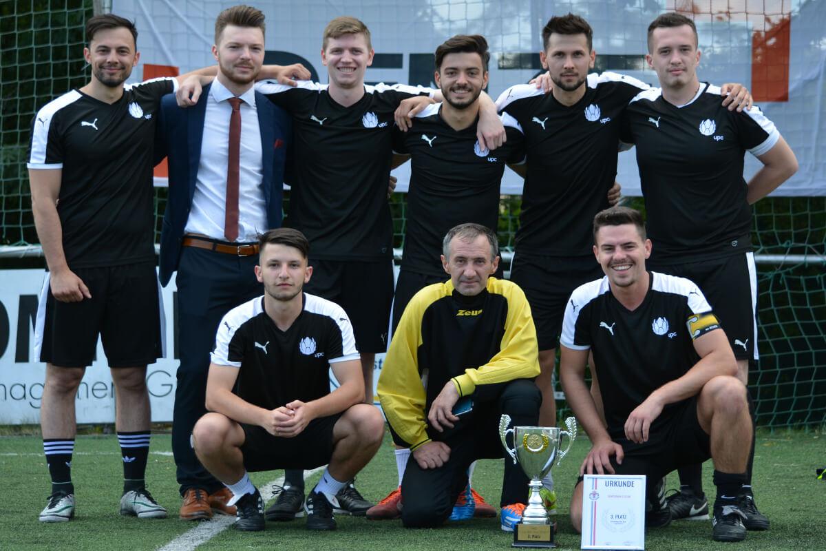 Mannschaftsfoto - Equipo de Hermanos - FFBÖ Kleinfeldliga West Wien