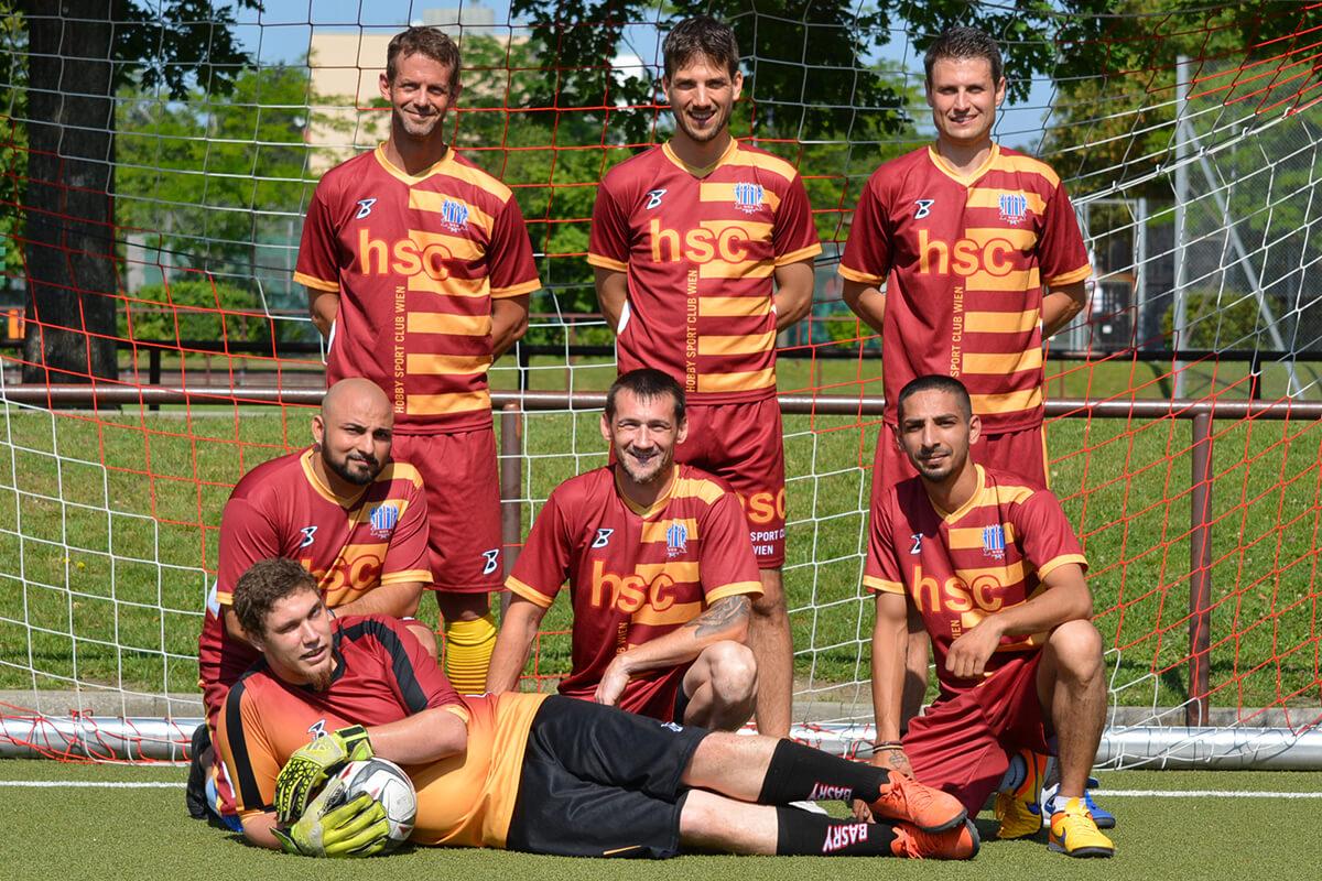 Mannschaftsfoto - HSC Wien - FFBÖ Kleinfeldliga Wien Süd
