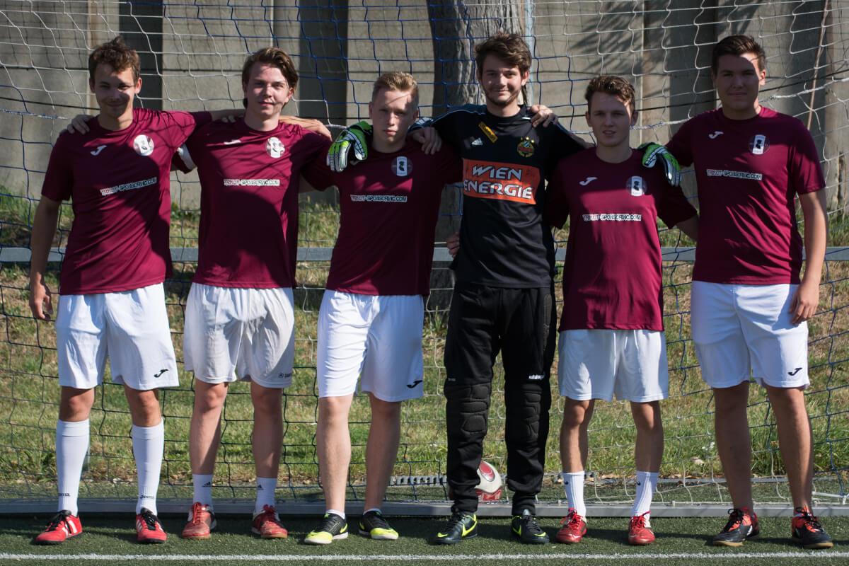 Mannschaftsfoto - Wiener Würstel 15 - FFBÖ Kleinfeldliga Wien West