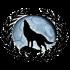Vienna Wolves Logo Wappen 200p FFBÖ Kleinfeldliga Wien