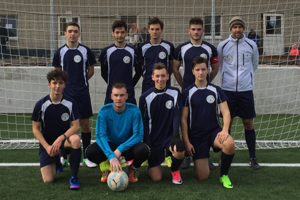 Mannschaftsfoto - TH United - FFBÖ Kleinfeldliga Wien Mitte