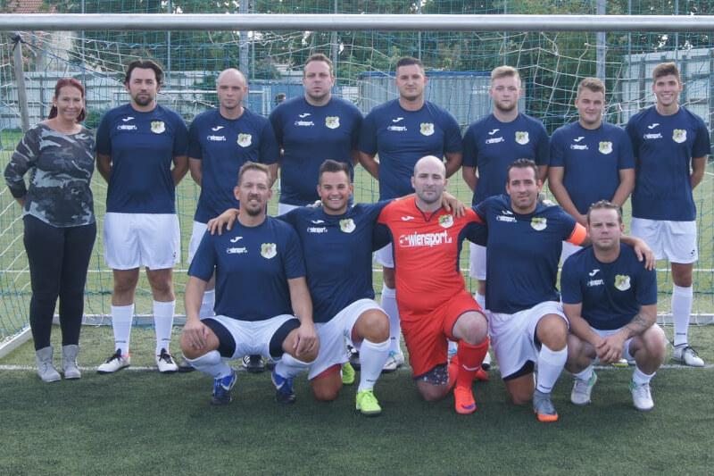 Mannschaftsfoto - AC Stadlau - FFBÖ Kleinfeldliga Wien