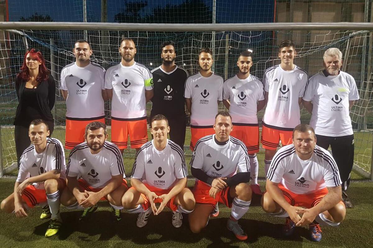Mannschaftsfoto - AC Wien - FFBÖ Kleinfeldliga Wien Nord