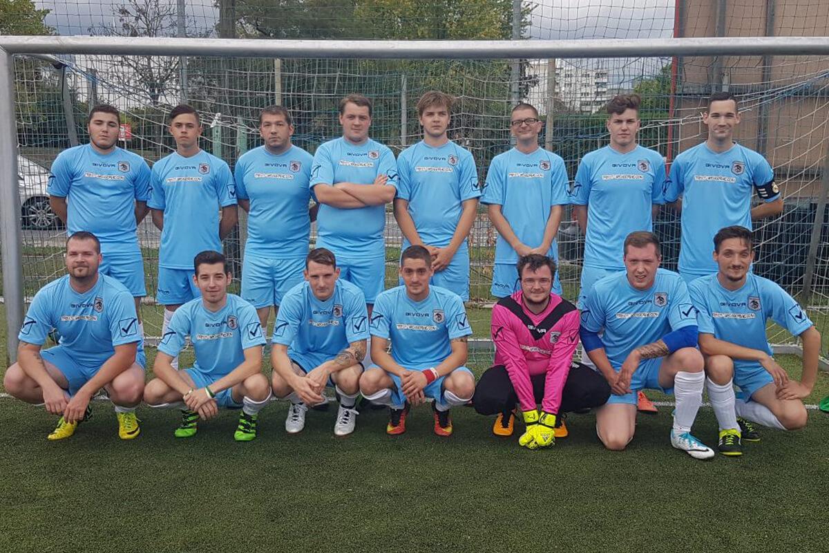 Mannschaftsfoto - Black Dragons FC - FFBÖ Kleinfeldliga Wien Nord
