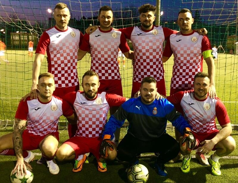 Mannschaftsfoto - Croatia Wien - FFBÖ Kleinfeldliga Wien