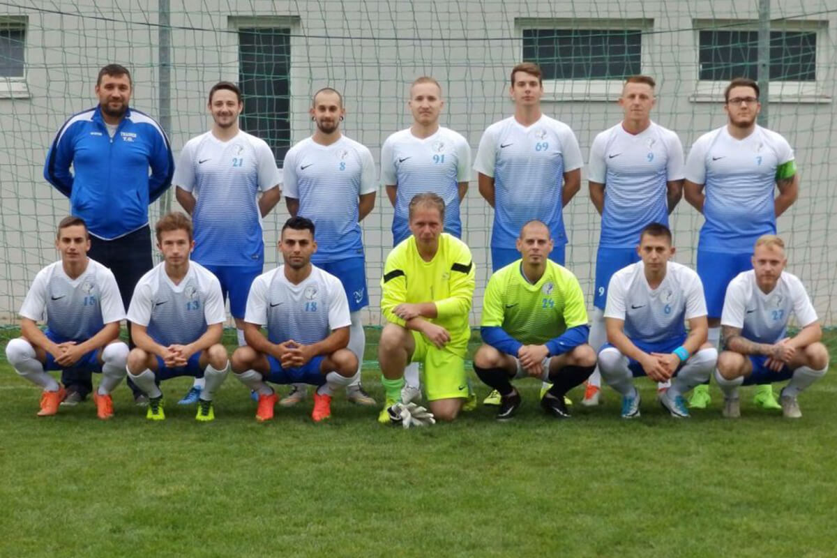 Mannschaftsfoto - FC Favoritner Lions - FFBÖ Kleinfeldliga Wien Nord