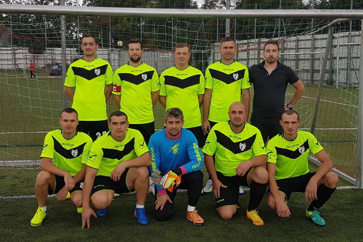 Mannschaftsfoto - FC Ro Team - FFBÖ Kleinfeldliga Wien Nord