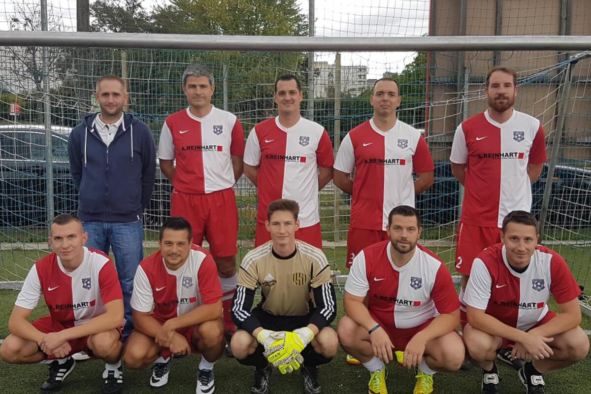 Mannschaftsfoto - FC Wien United - FFBÖ Kleinfeldliga Wien Nord
