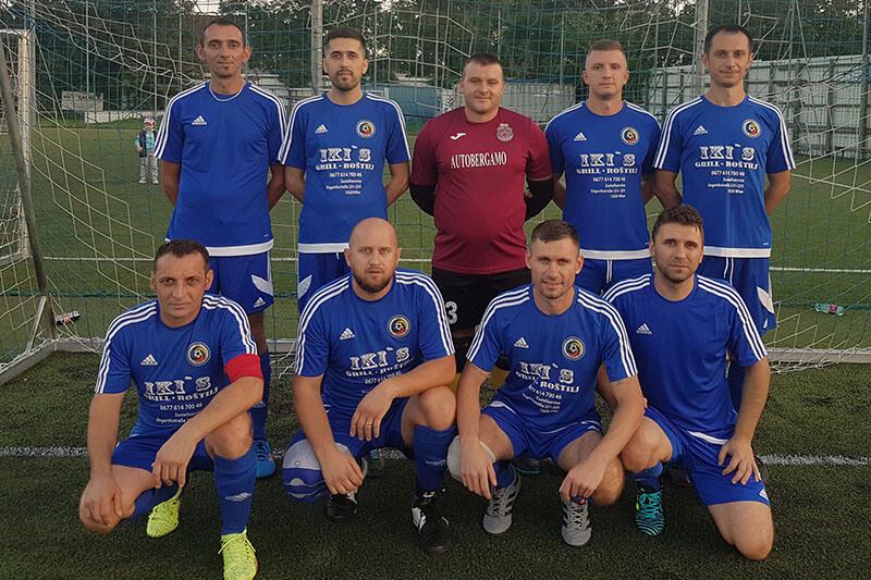 Mannschaftsfoto - FCA Rumänien Wien - FFBÖ Kleinfeldliga Nord