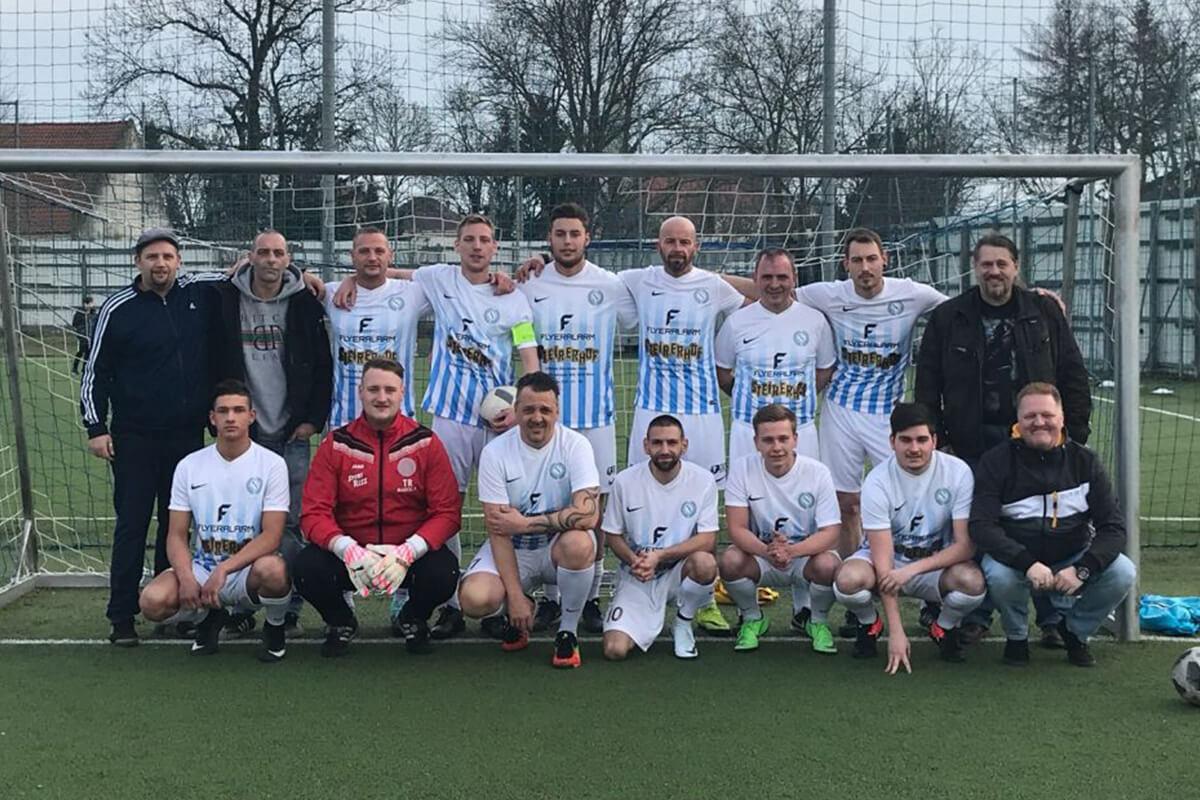 Mannschaftsfoto - Fortuna Napoli Wien - FFBÖ Kleinfeldliga Wien Nord