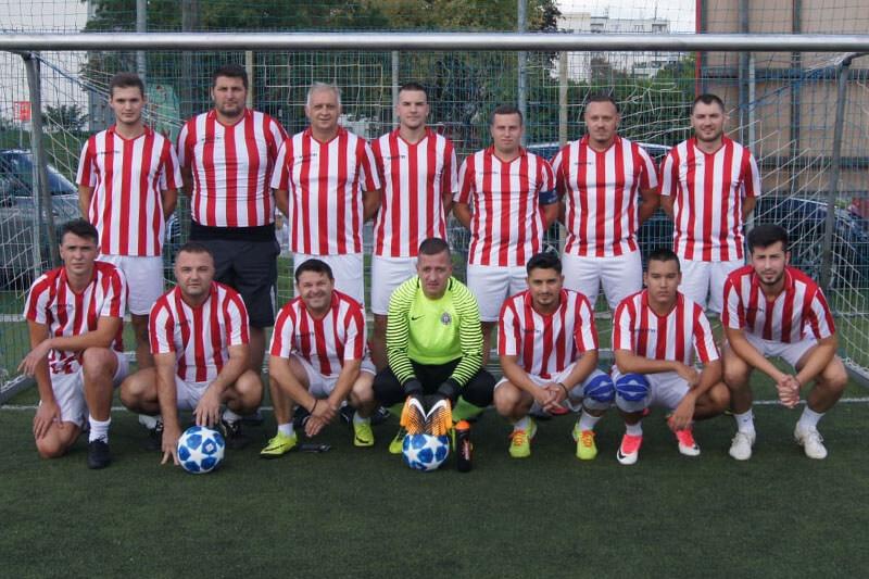 Mannschaftsfoto - Roter Stern Wien - FFBÖ Kleinfeldliga Wien