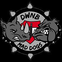 Wappen Logo 2018 - DWNB Maddogs - FFBÖ Kleinfeldliga Wien Süd