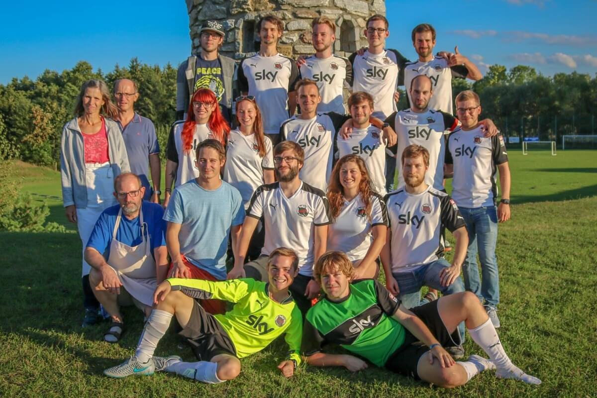 Mannschaftsfoto - SV Wüde Blindnis - FFBÖ Kleinfeldliga Wien