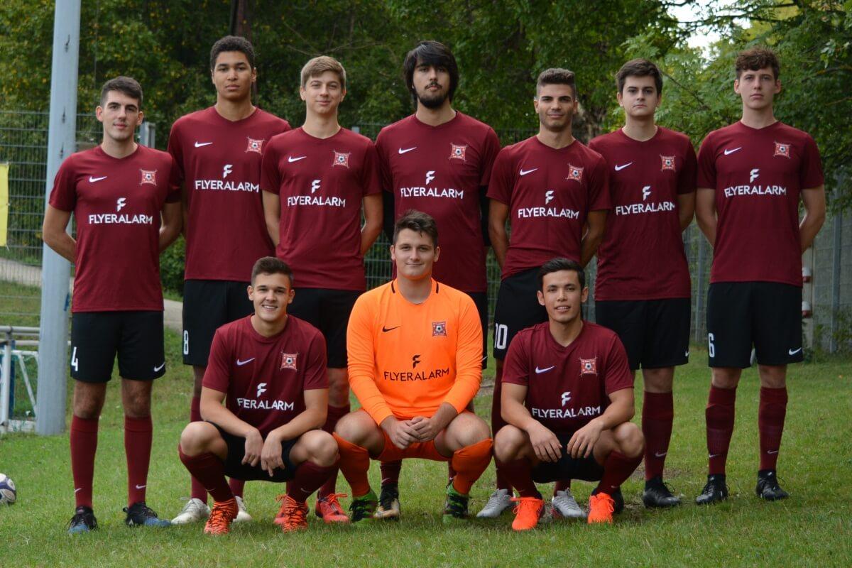 Mannschaftsfoto SC Young Stars FFBÖ Kleinfeldliga Wien