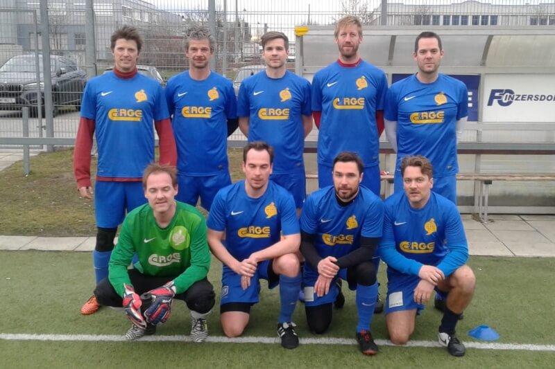 Mannschaftsfoto H-Town Kleinfeldliga Wien