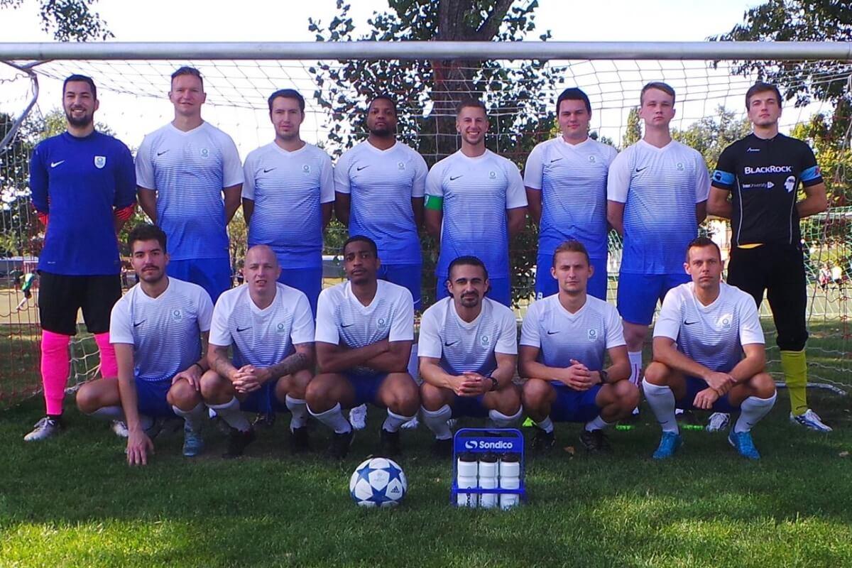 Mannschaftsfoto Lions Vienna FFBÖ Kleinfeldliga Wien