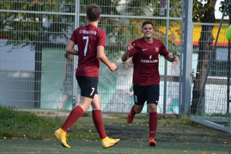 SC Young Stars feiern dritten Saison-Sieg