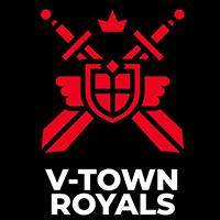 Wappen Logo V-Town Royals FFBÖ Kleinfeldliga Wien